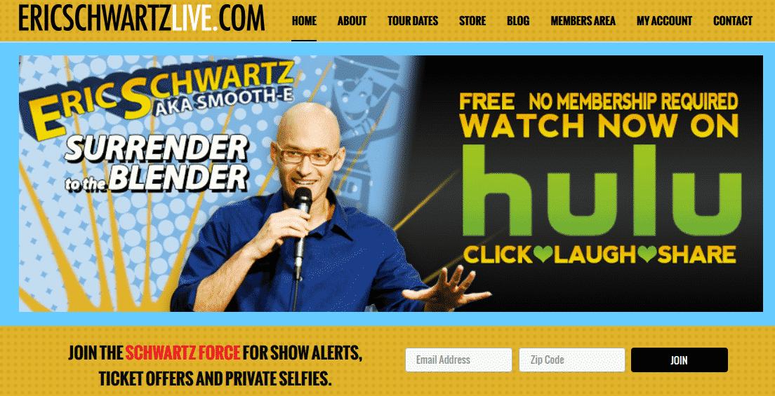 Funny Musical Comedian Eric Schwartz