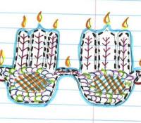 Thanksgivukkah Menurkey Catches Fire, Smells Amazing