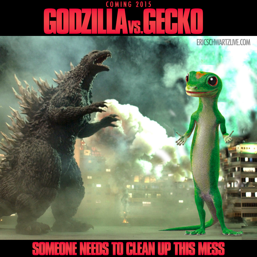 Godzilla Vs. Gecko : Eric Schwartz Aka Smooth-E