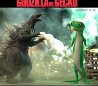 Godzilla Vs. Gecko