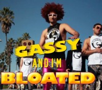"""Gassy and I'm Bloated"" – LMFAO Parody"