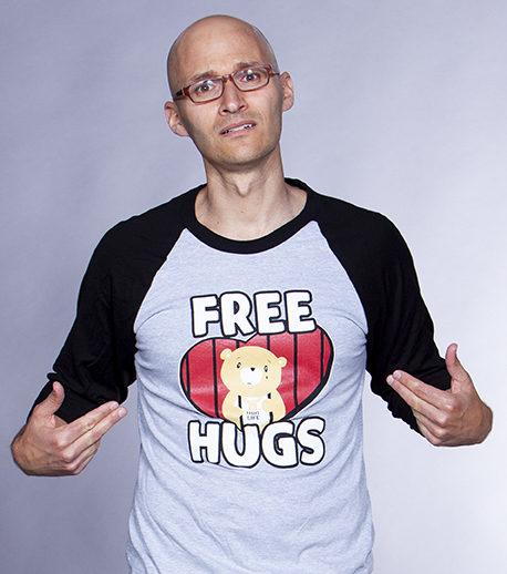 Free Hugs Baseball Tee (Unisex)