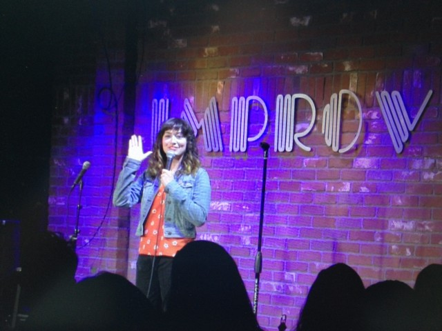 Melissa Villasenor Hollywood Improv RecordBreakerz