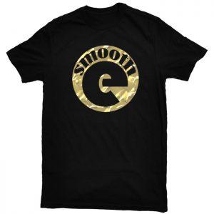 Smooth-E Logo Shirt - Gold on Black