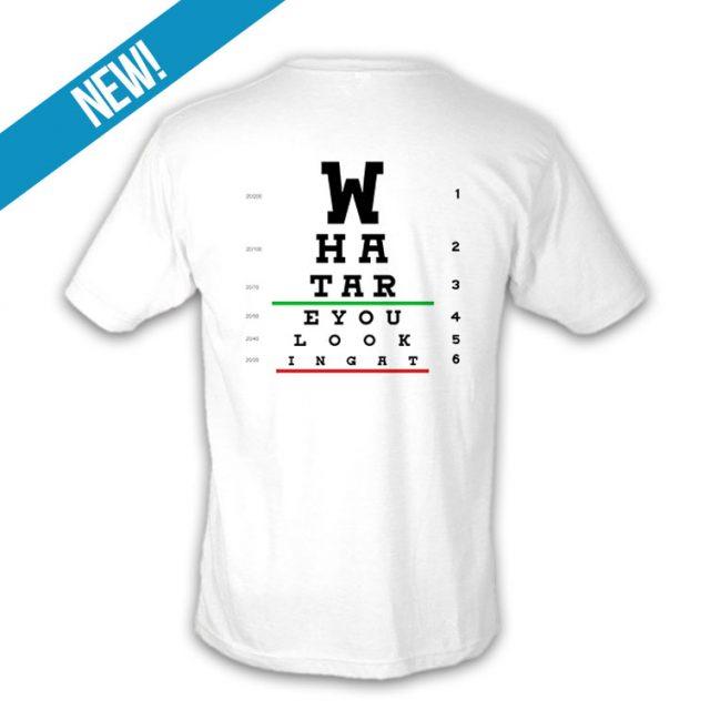 Eye Chart T-shirt (Unisex)